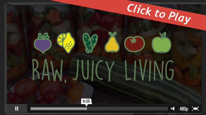 About Raw, Juicy Living